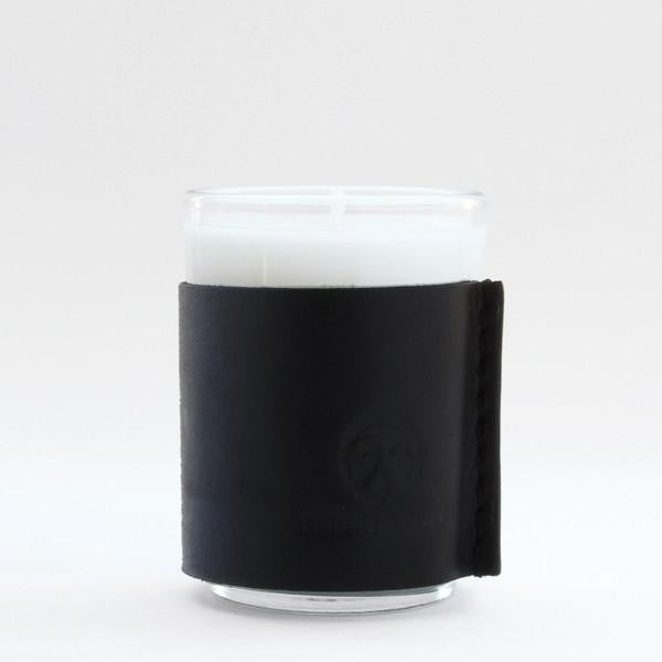 Friday & River - Candle 2.5oz Woodland Cabin Black Leather