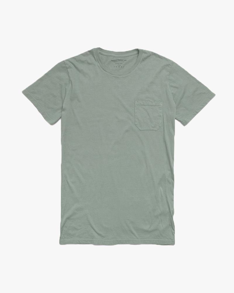 RICHER POORER - Pocket Tee Sage