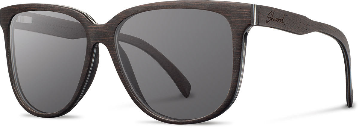 Shwood - Mckenzie: Dark Walnut - Grey