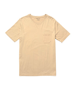 RICHER POORER -  Pocket Tee Oatmeal
