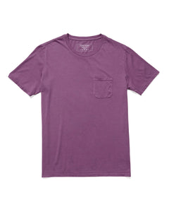 RICHER POORER -  Pocket Tee Plum