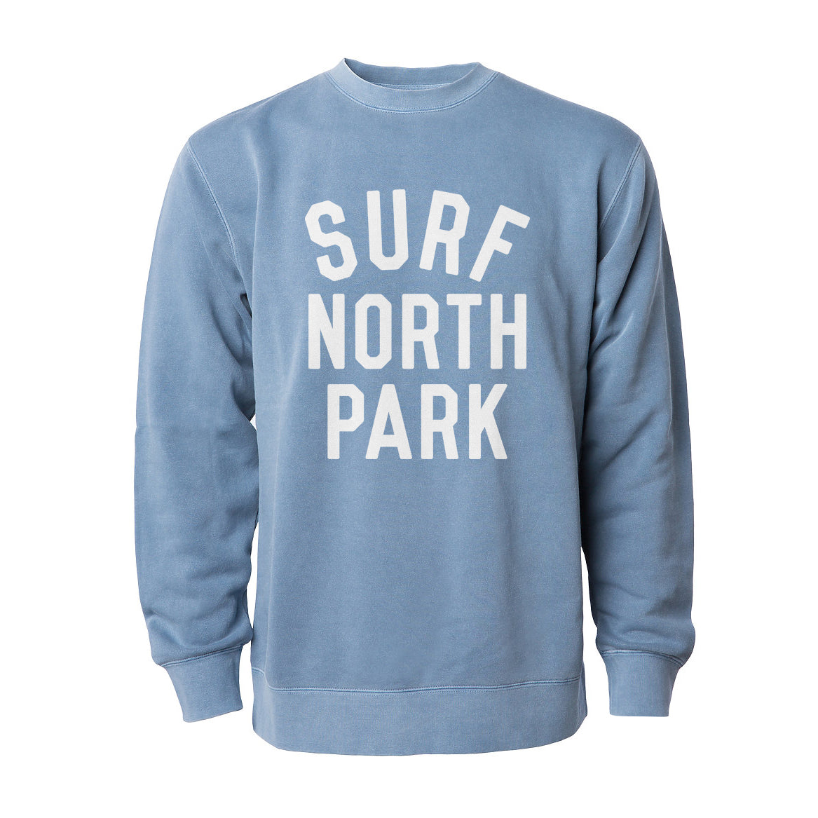 Aloha Beach Club - Surf North Park Faded Blue Sweatshirt - Aloha Beach Club