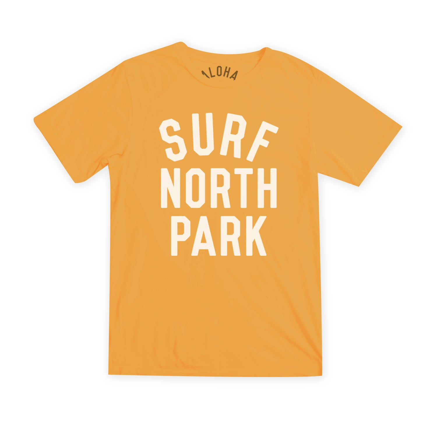 Aloha Beach Club - Surf North Park Burnt Orange Tee - Aloha Beach Club