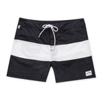 Aloha Beach Club - Tucker Trunk in Black and White - Aloha Beach Club