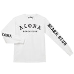 Aloha Beach Club - Venice Long Sleeve Shirt White - Aloha Beach Club