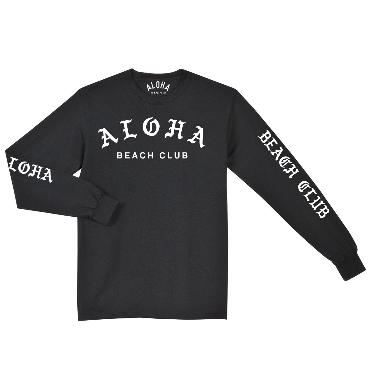 Aloha Beach Club - Venice Long Sleeve Shirt Black - Aloha Beach Club
