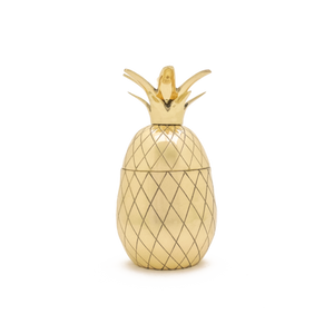 Brass Pineapple Tumbler
