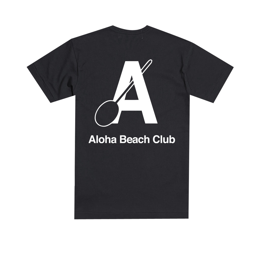 Aloha Beach Club - Canoe Club Tee Black - Aloha Beach Club