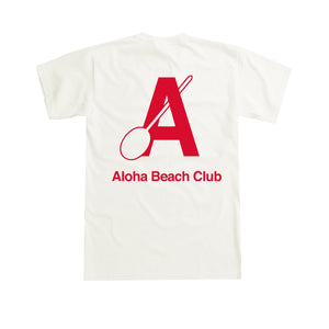 Aloha Beach Club - Canoe Club Tee Natural - Aloha Beach Club