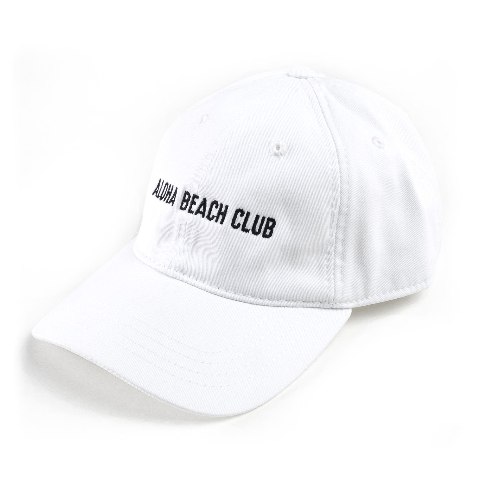 Aloha Beach Club - ABC Polo Cap White - Aloha Beach Club 4361f3146a1f