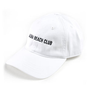 Aloha Beach Club - ABC Polo Cap White - Aloha Beach Club