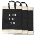 Apolis + Aloha Beach Club - (3-pack) Black Market Bag - Aloha Beach Club
