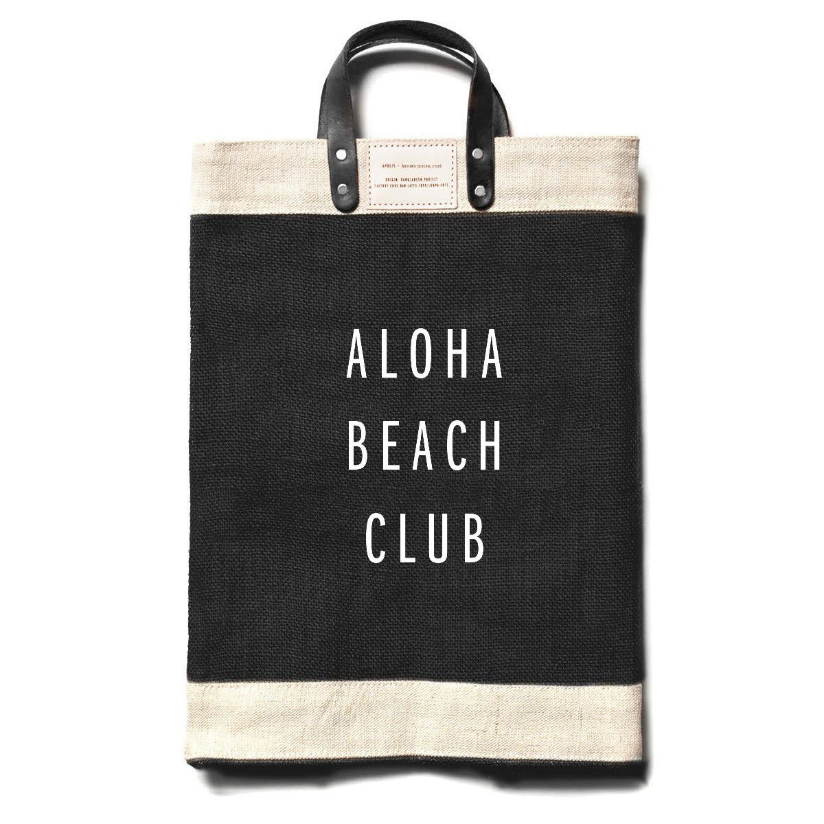 Apolis + Aloha Beach Club - Black Market Bag - Aloha Beach Club