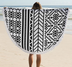 The Beach People - Aztec Round Towel