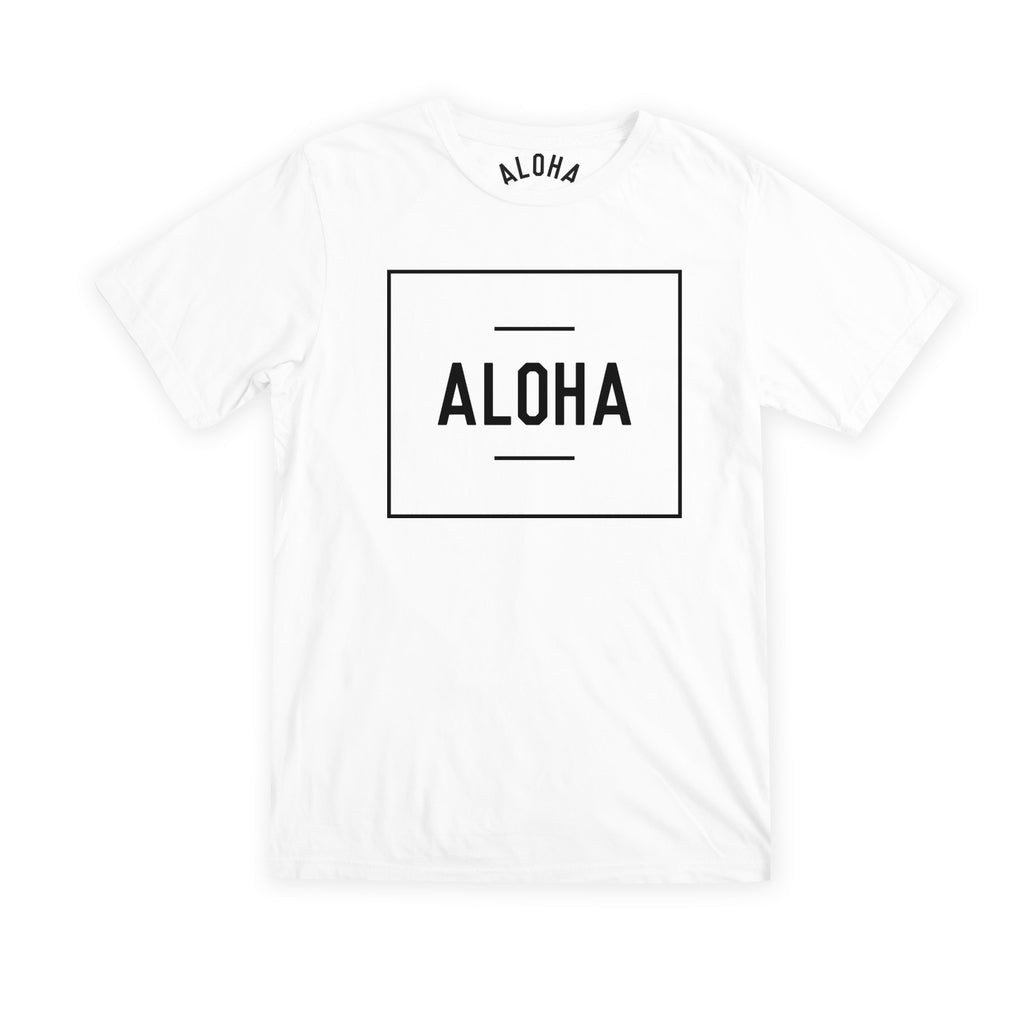 Aloha Beach Club - Boxer Tee White - Aloha Beach Club
