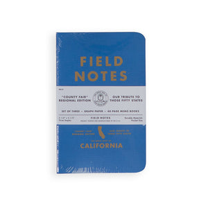 Field Notes - California County Fair State 3-Pack