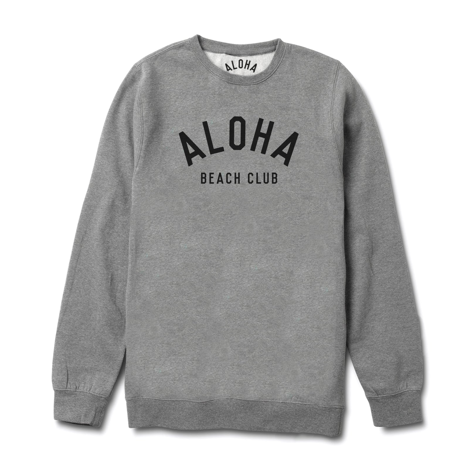 Aloha Beach Club - Crew Tri-blend Sweatshirt - Aloha Beach Club