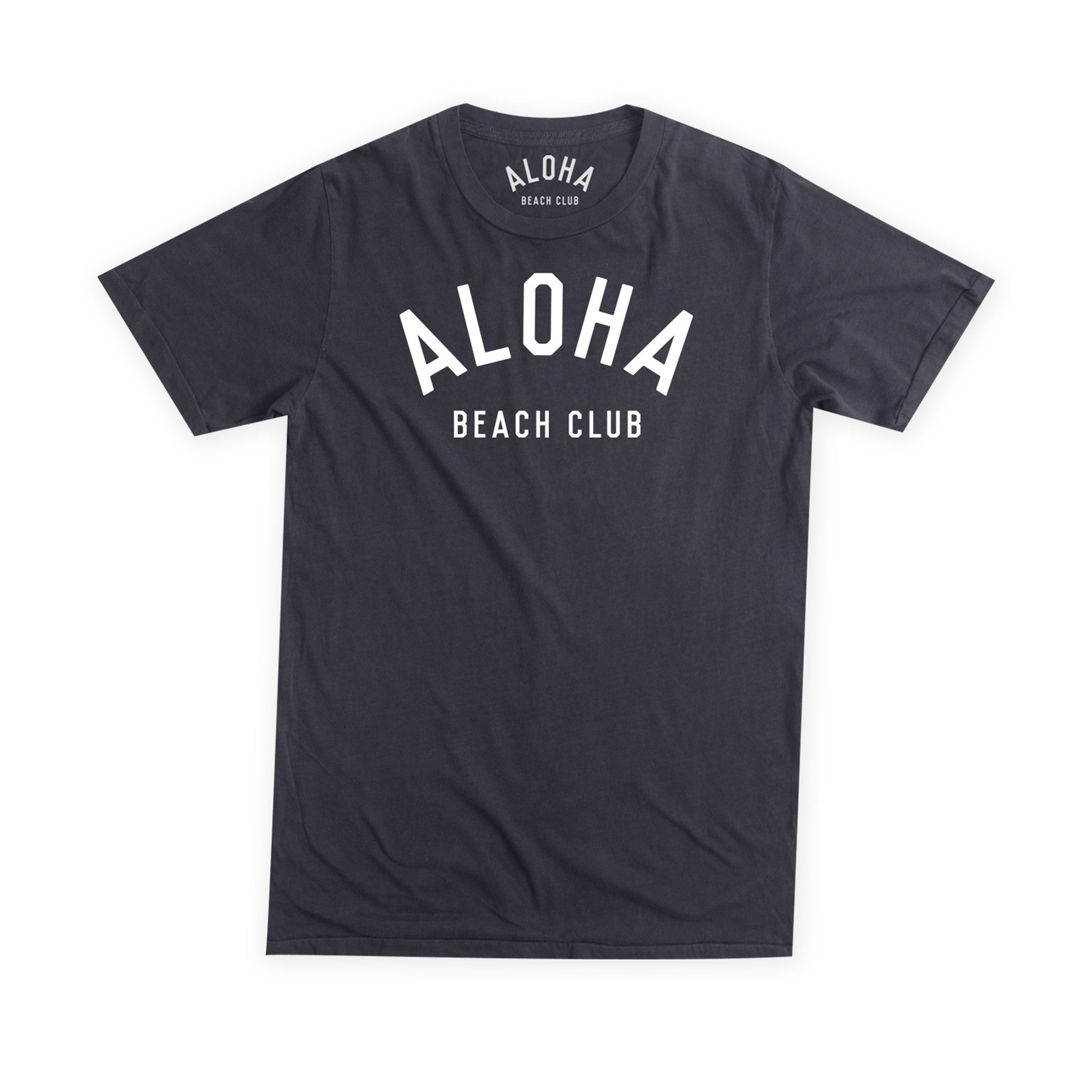 Aloha Beach Club - Crew Tee Black - Aloha Beach Club