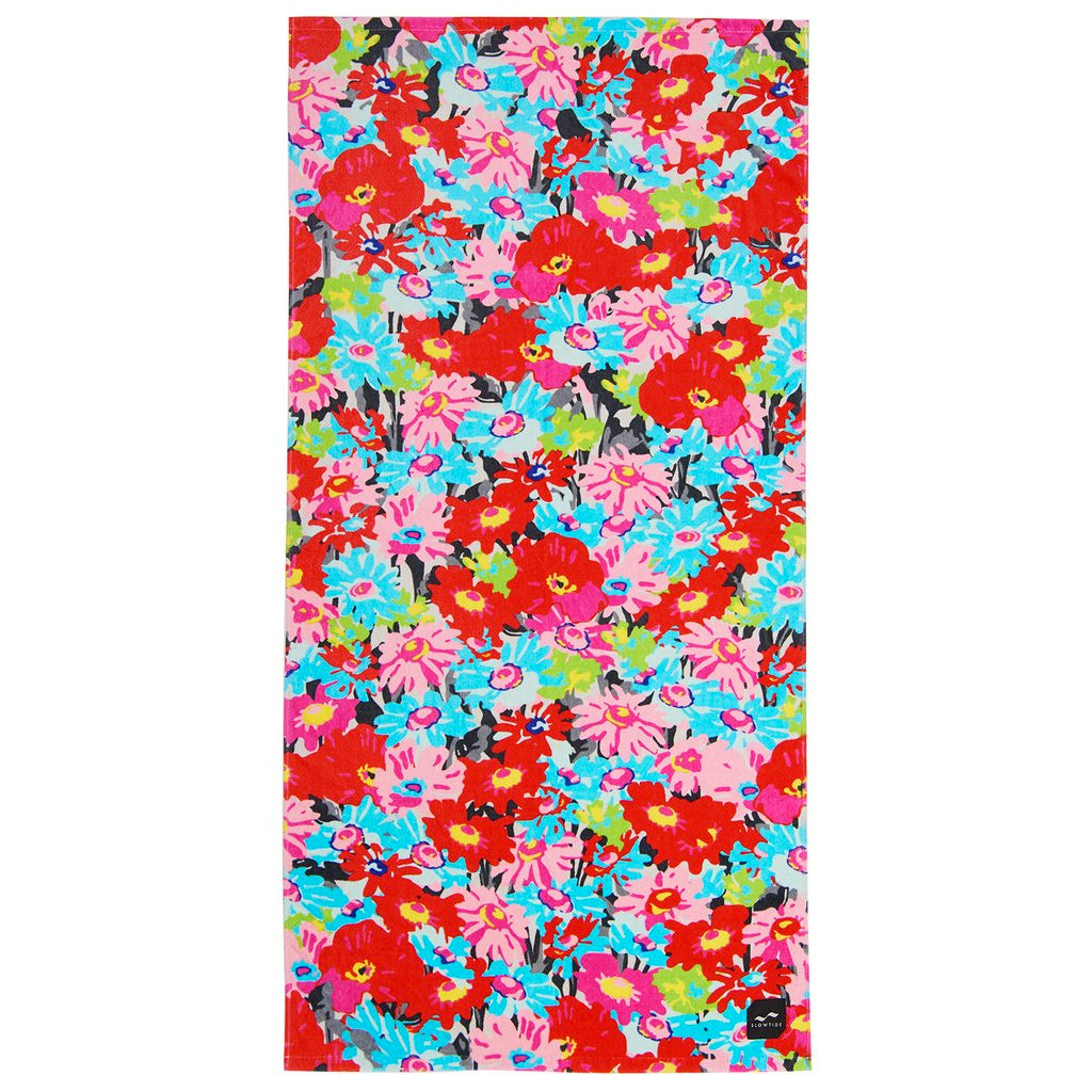 Slowtide - Dead Flowers Towel
