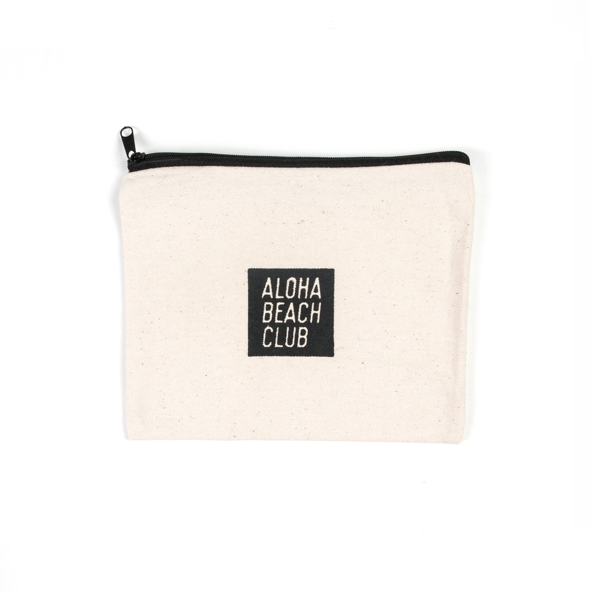 Aloha Beach Club - Cotton Canvas Dopp Kit Natural - Aloha Beach Club