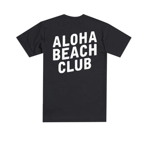 Aloha Beach Club - Field Tee Black - Aloha Beach Club