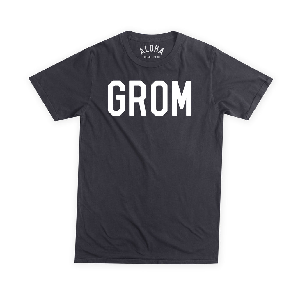 Aloha Beach Club - Grom Tee Black - Aloha Beach Club
