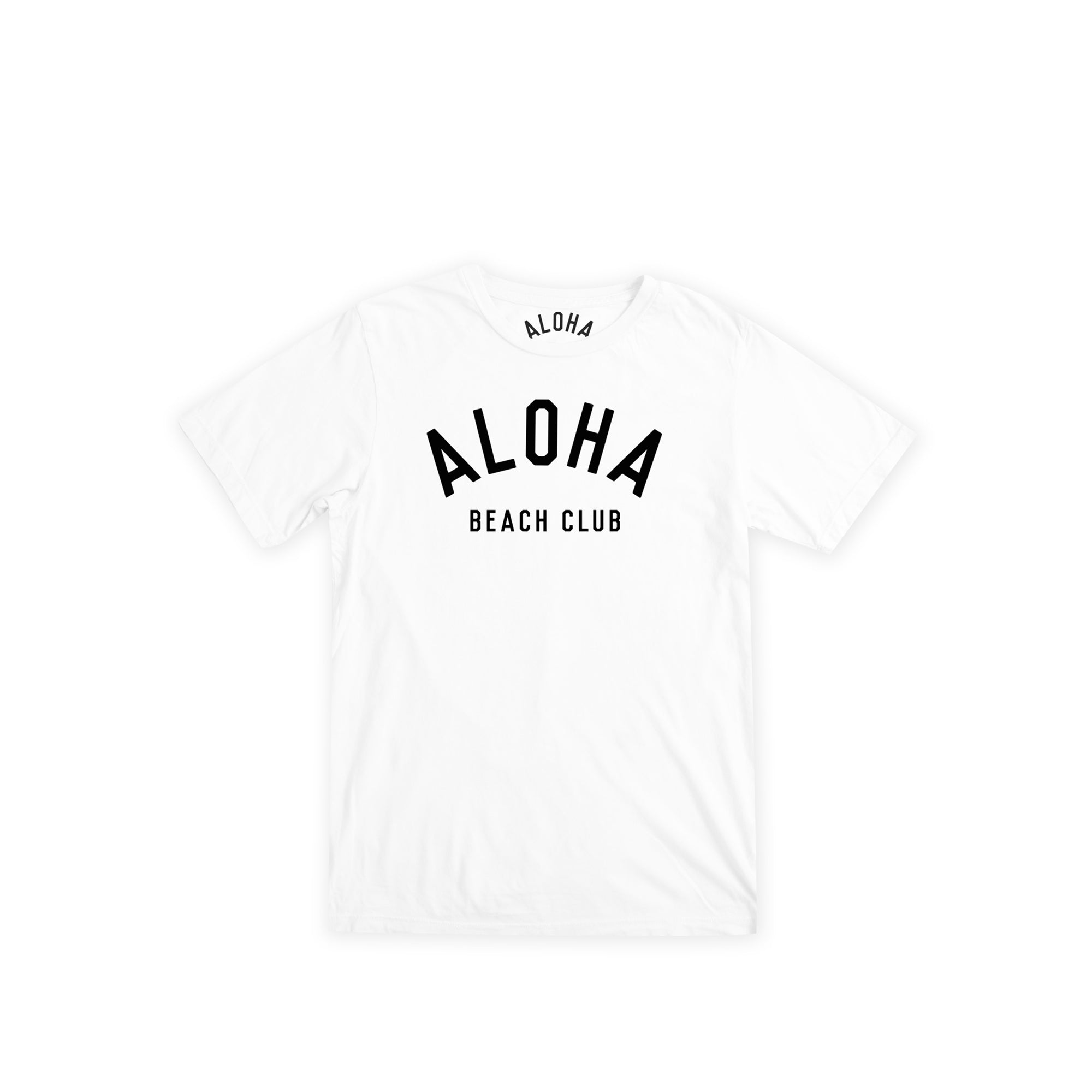 Aloha Beach Club - Kids Crew Tee White - Aloha Beach Club