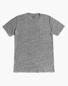 RICHER POORER - Pocket Tee Heather Grey