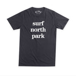 Aloha Beach Club - Surf North Park Tee Black - Aloha Beach Club