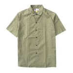 Aloha Beach Club - Pearl City Green Short Sleeve Aloha Shirt - Aloha Beach Club