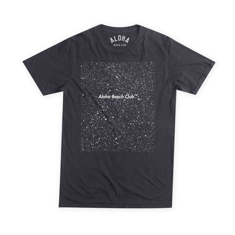 Aloha Beach Club - Pollock Tee Black - Aloha Beach Club