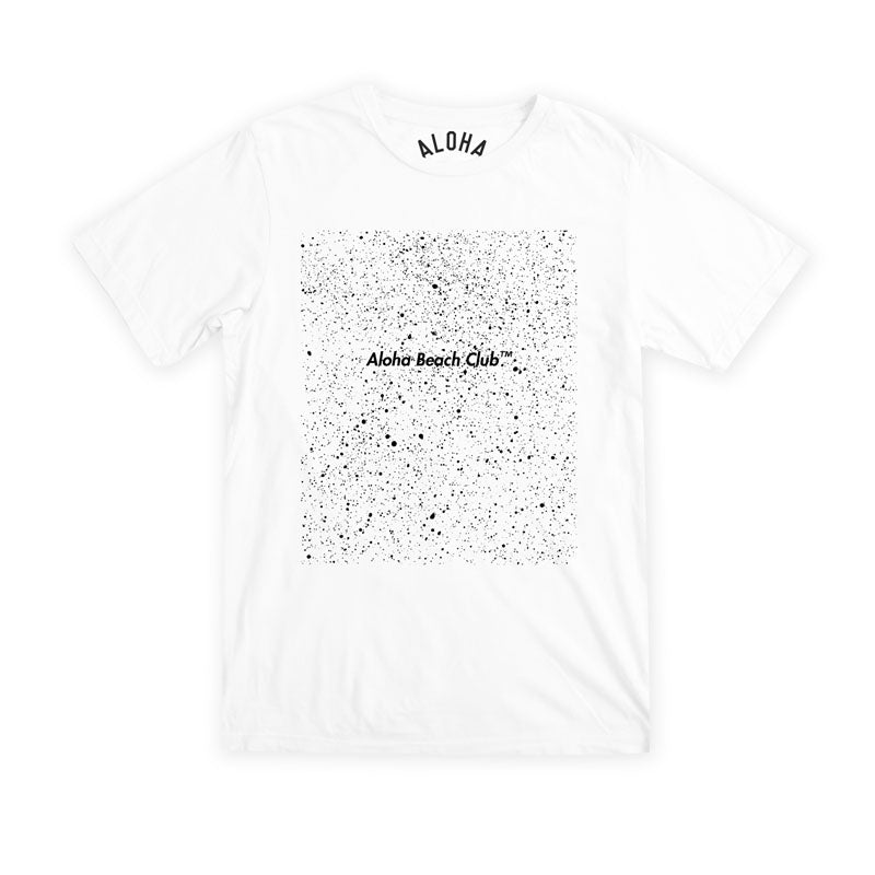 Aloha Beach Club - Pollock Tee White - Aloha Beach Club