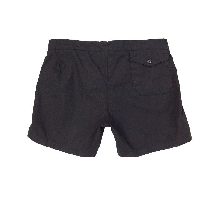 M. Nii - The Senator Black Sand Surf Trunks