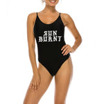 Sunburnt Reynolds - One Piece Bathing Suit Black