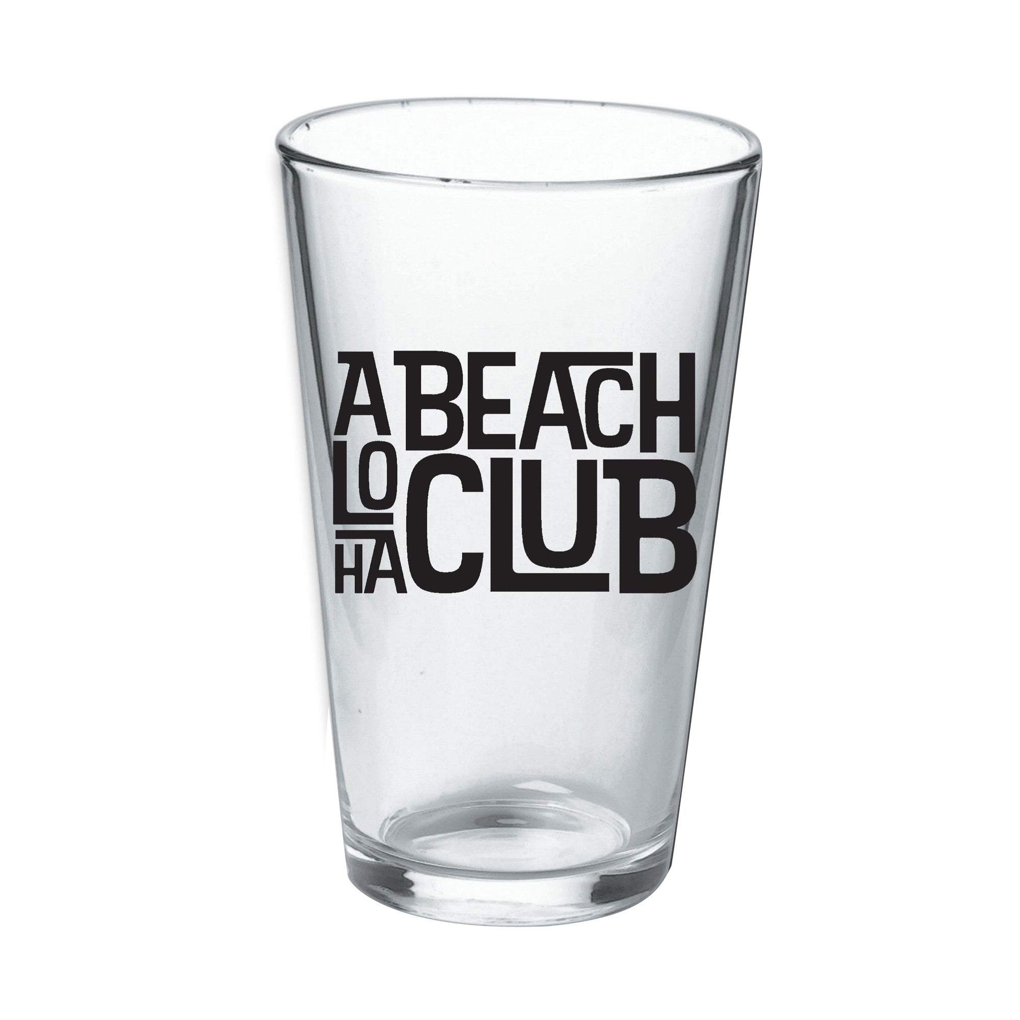 Aloha Beach Club -  Tiki Pint Glass - Aloha Beach Club