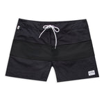 Aloha Beach Club - Tucker Trunk Black on Black - Aloha Beach Club