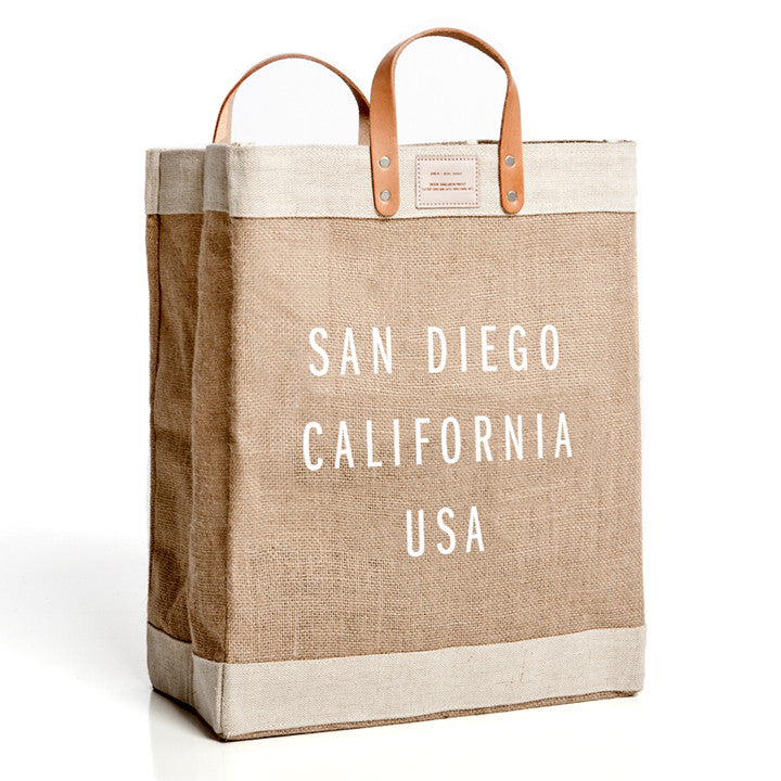 Apolis + Aloha Beach Club - San Diego Market Bag - Aloha Beach Club