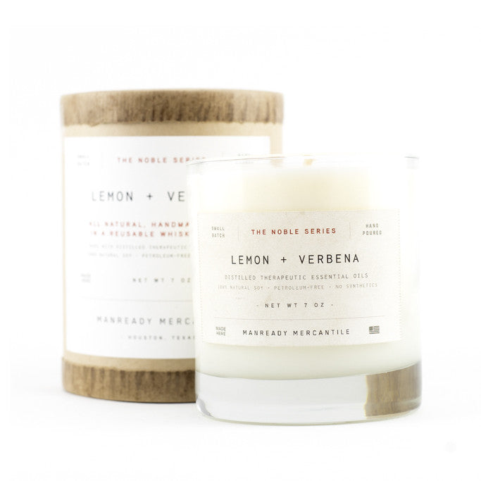ManReady - Lemon Verbena Candle