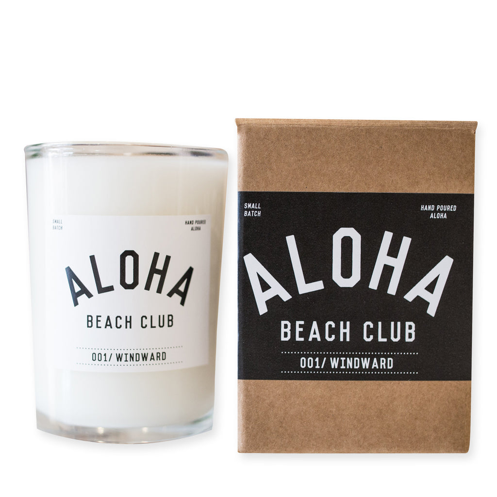 Aloha Beach Club - Candle 001//Windward - Aloha Beach Club