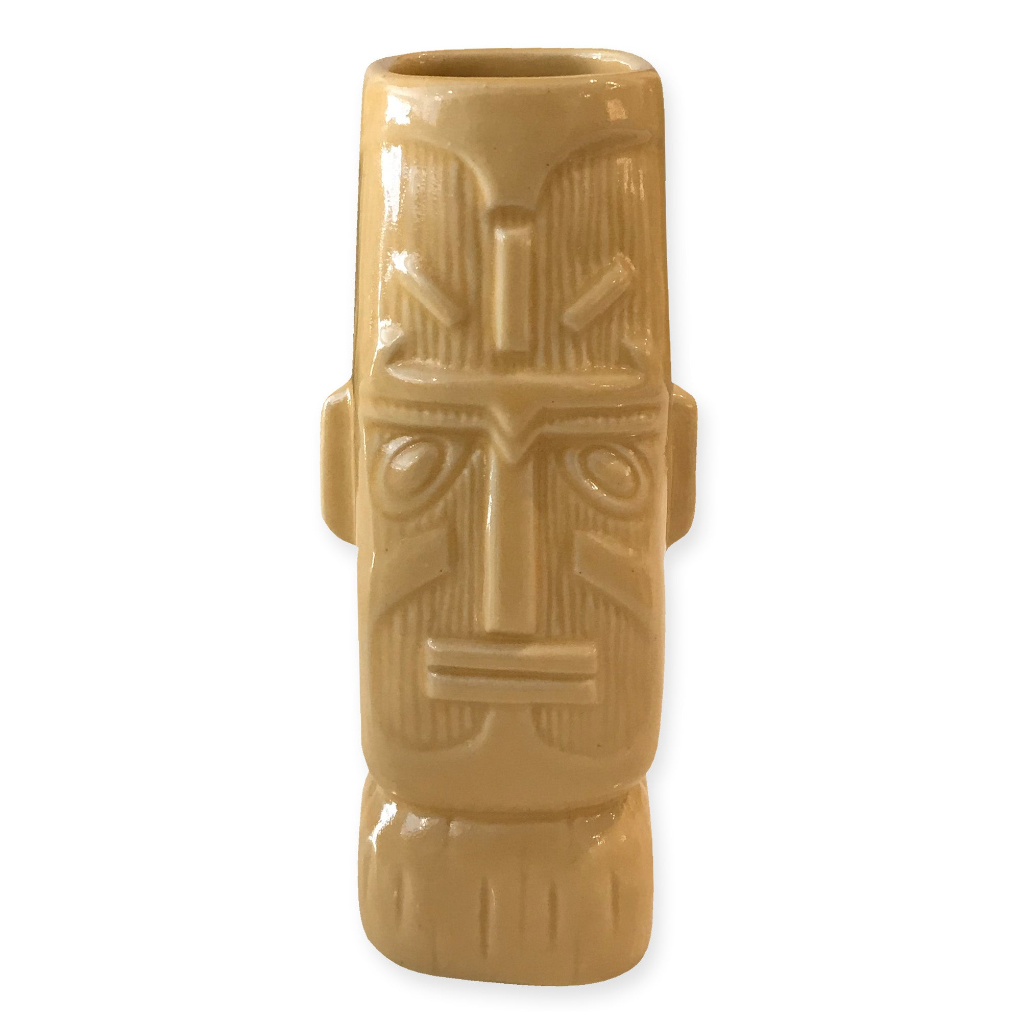 Aloha Beach Club - Large Moai Tiki Mug Yellow - Aloha Beach Club