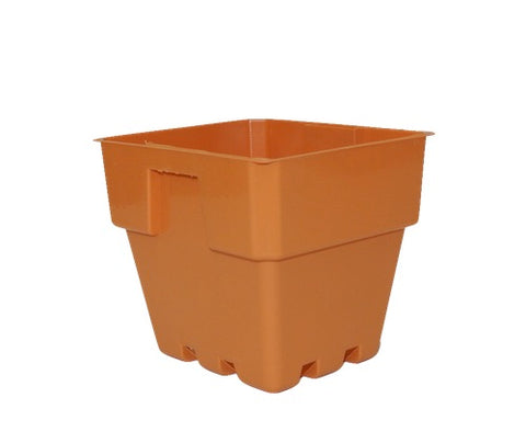 100mm Squat Punnet Pots (Clay Colour)