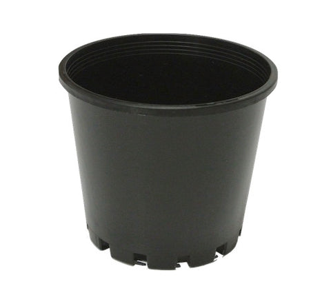 100mm Squat Garden Pots Round