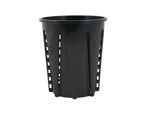 Anti-Spiral Garden Pots 1.6L x 8- Eliminates Root Circling, Strong Plant Growth