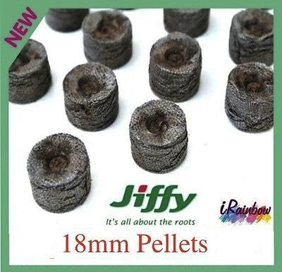 18mm Jiffy Coir Pellets Round - For Plant / Veggie Seeds Propagation - Ozpots