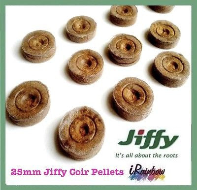 25mm Jiffy-7 Coir Pellets Round