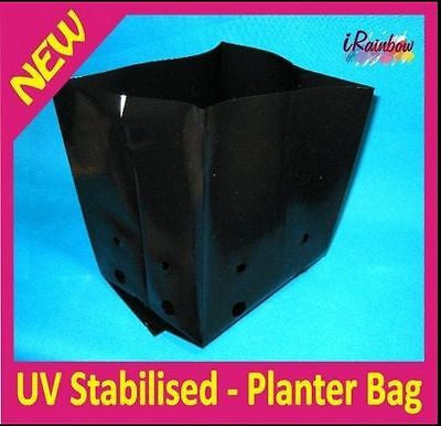Planter Bags UV Stabilised - 10L - Alternative to Pots, Seeding