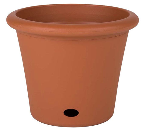 230mm Self Watering Plastic Garden Pots x 6pcs