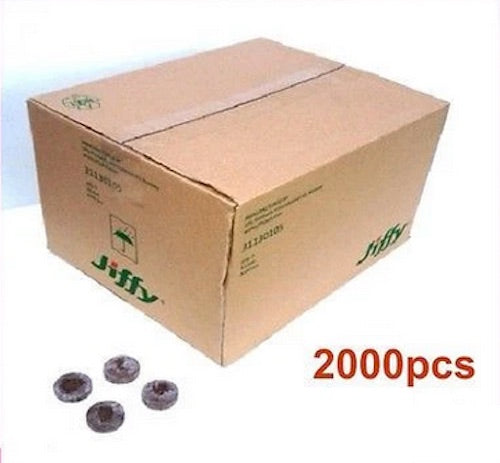 30mm Jiffy-7 Peat Pellets Round x 2000pcs - Bulk Buy
