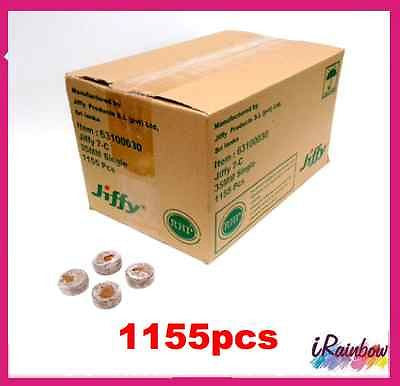 Jiffy-7C Coir Pellets Round 35mm x 1,155pcs - Bulk Buy