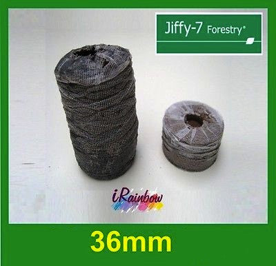 36mm Jiffy Forestry Vine Pellets Round
